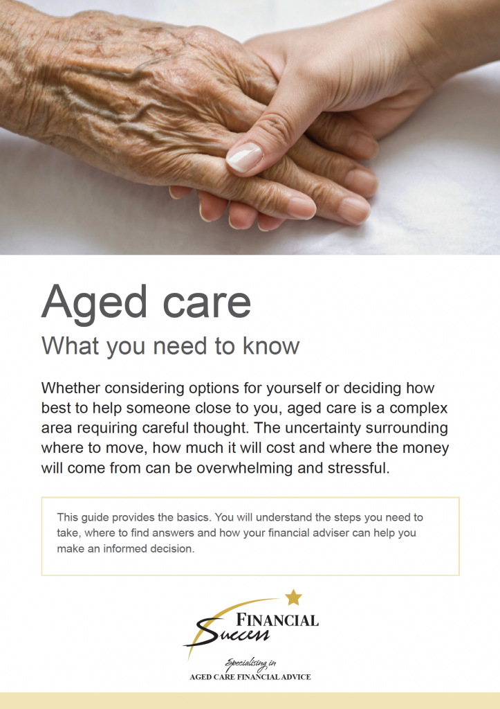 Aged Care - What you need to know